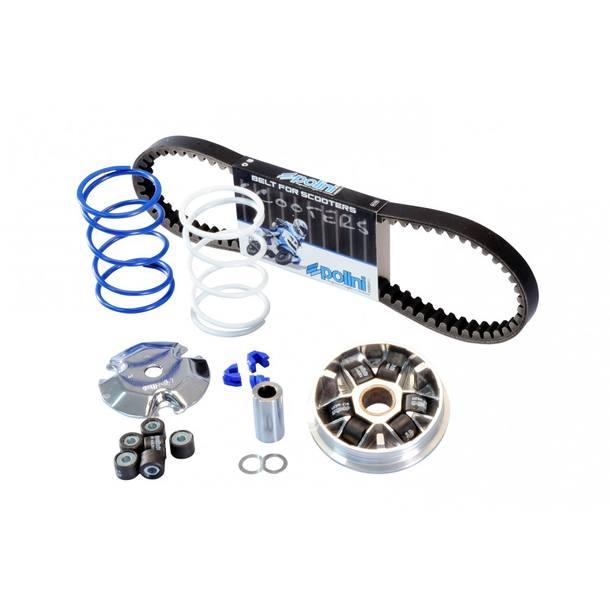 Variator Polini Speed Control ECO KIT für Peugeot (Variator, Keilriemen, Gegendruckfedern, 2xGewichte)