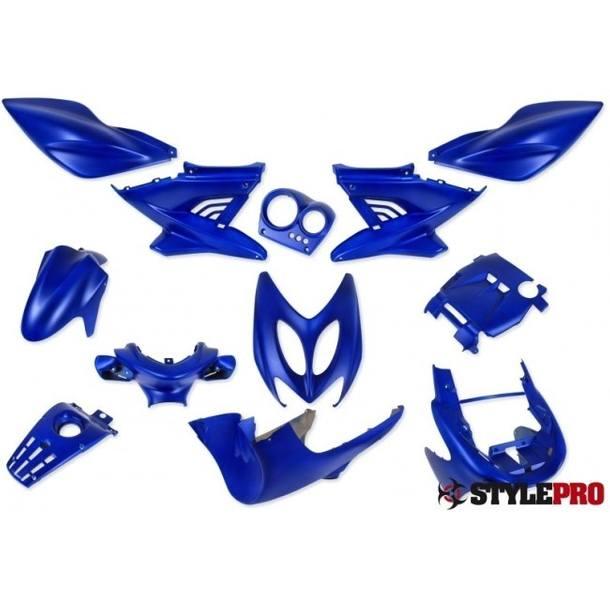 Verkleidung 12 Tlg, StylePro, Nitro,Aerox, blau matt