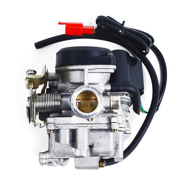 Vergaser für 50 - 80 ccm GY6 Motortyp QMB139 / QMA139, komplett (inkl. E-Choke)