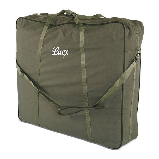 Tragetasche, Bedchair Bag XXL für Angelliegen/Angelstühle, Maße (L/B/H):82 x 90 x 30 cm
