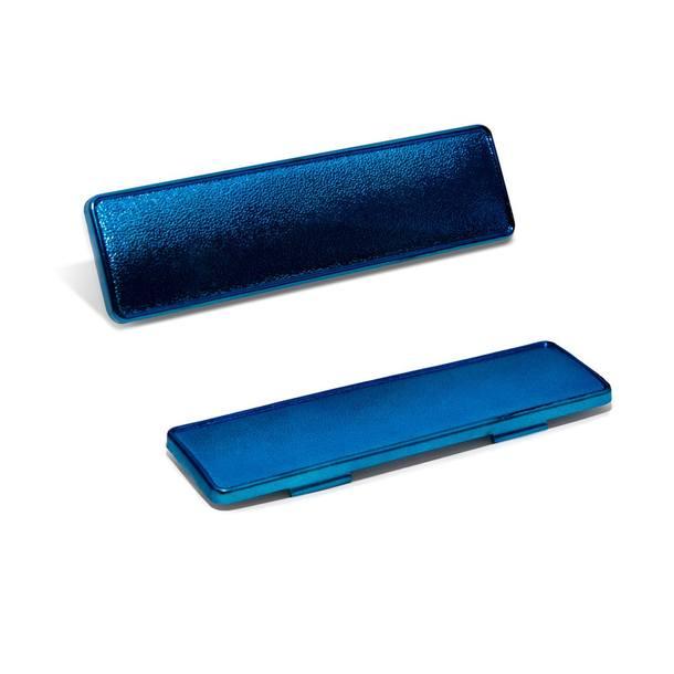 Abdeckung Fahrgestellnummer blau - für MBK Nitro / Stunt / Yamaha Aerox / Slider / Malaguti F15