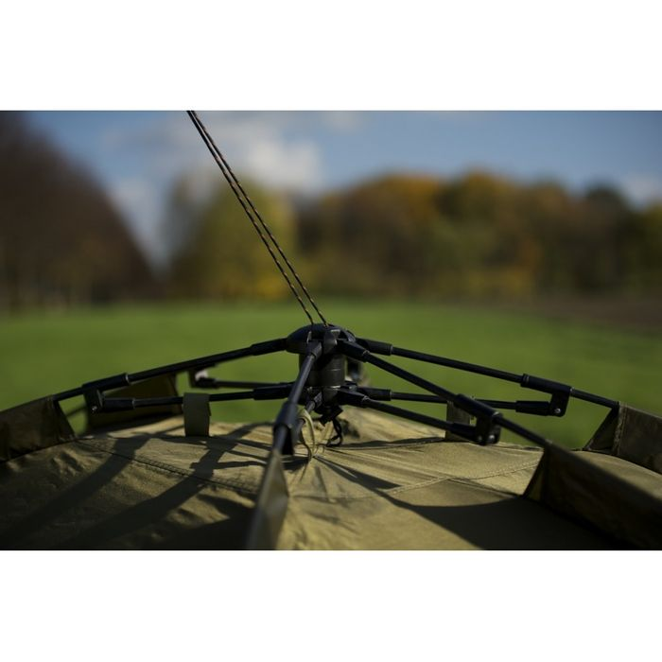 Lucx® Bivvy Angelzelt Karpfenzelt Ruck Zuck Zelt, 1 - 2 Mann  Pop-Up Zelt 10.000mm – Bild 10