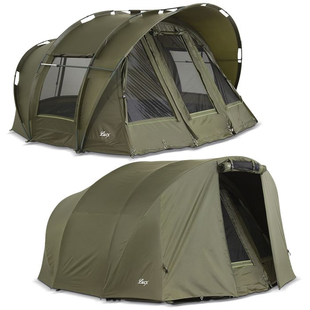 [Bundle] Lucx fishing tent - Bivvy Leopard 1-3 Man + Winterskin