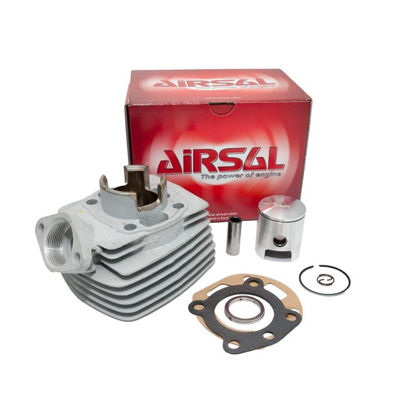 Zylinderkit Airsal T6-Racing 50ccm für Peugeot 103 T3, 104 T3 Brida