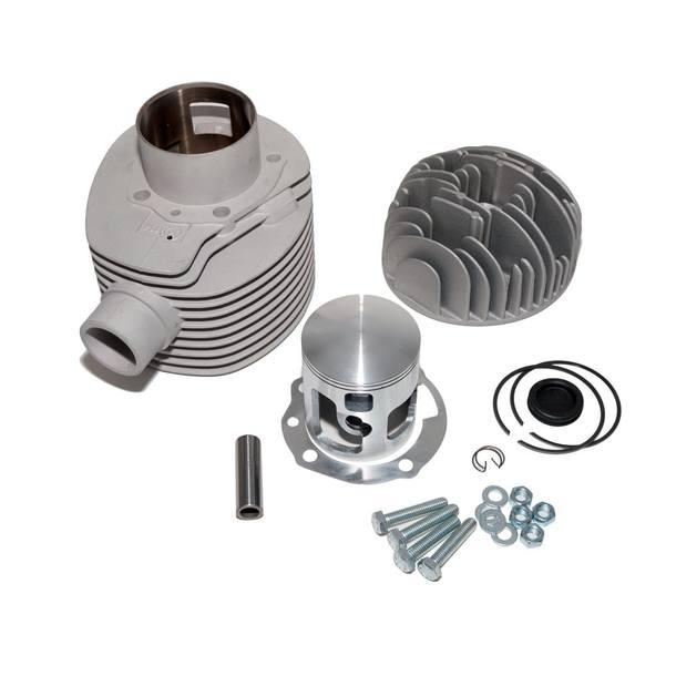 Rennzylinder / Racing Zylinder Kit Pinasco, 225ccm 69mm für Vespa 200 Rally / P 200 E / PX 200 E (inkl. Zylinderkopf)