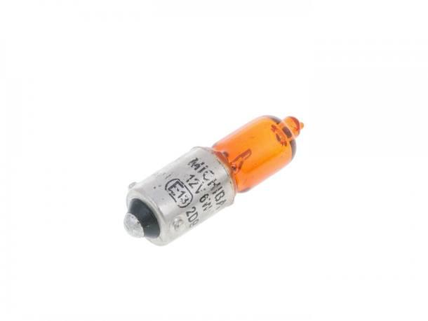 Glühlampe orange H6W BAX9s 12V 6W
