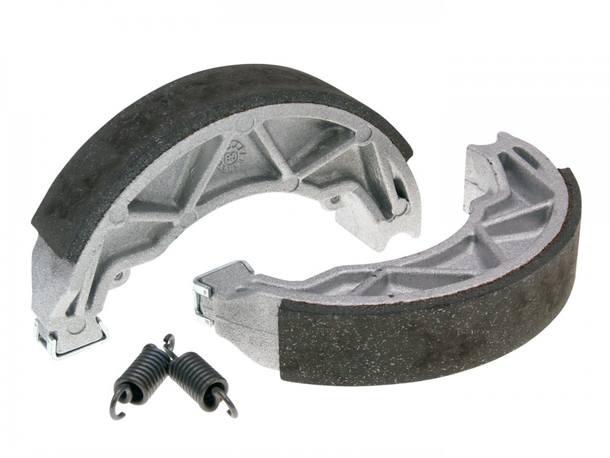 Bremsbacken f/ür Trommelbremse 100/x; mm POLINI inkl Federn