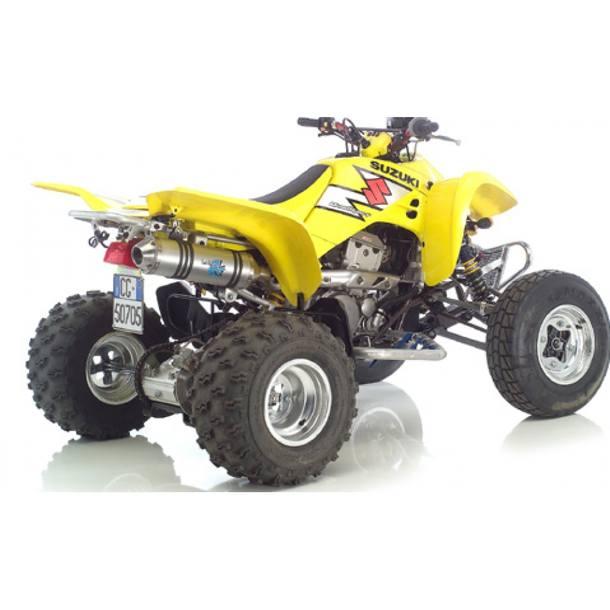 Auspuffanlage LeoVince Aluminium SLIP-ON X3 ATV für Kawasaki KFX 400