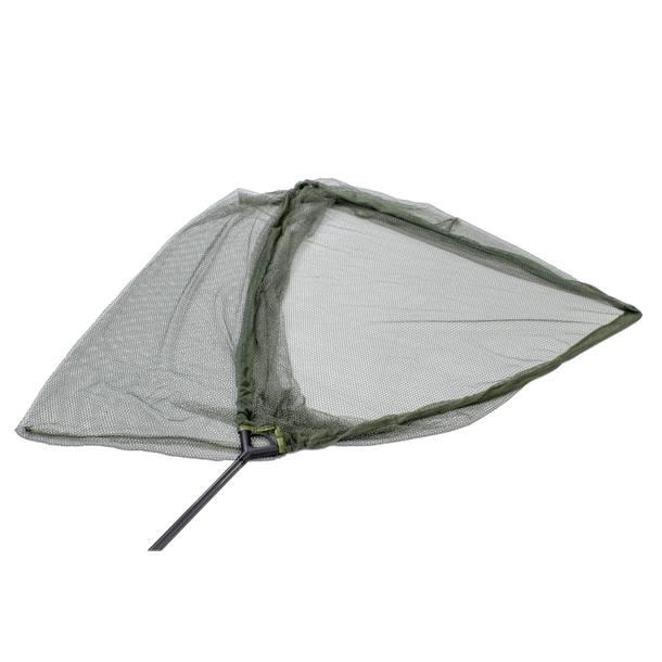 "Lucx® Dreamcatcher Kescher Landing Net Karpfenkescher  2-teilig 42""- Carbon - Netz grün – Bild 5"