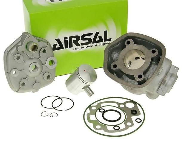 Zylinderkit Airsal Sport 49,7ccm 40,3mm, 39mm Grauguss für Minarelli AM