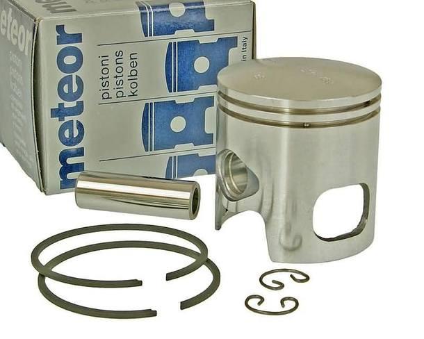 Kolben Satz Meteor für 70ccm Malossi Zylinder mit 12mm Kolbenbolzen