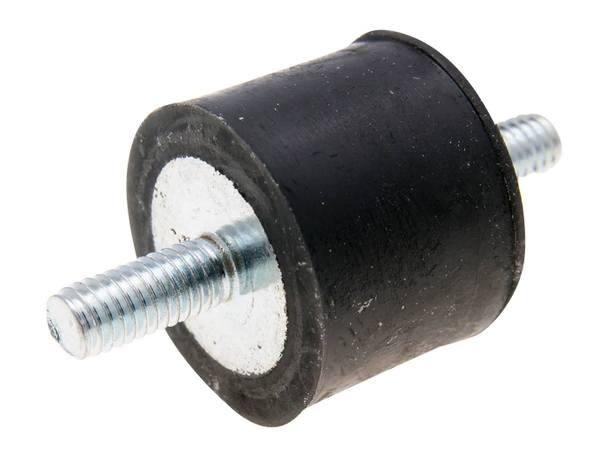 Auspuffhalterung Silentblock / Gummilager M6x14mm 25x20mm