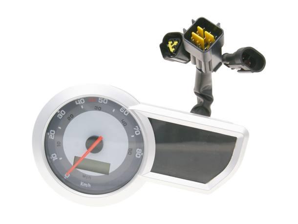 Tachometer für Generic Trigger, Explorer Sniper, KSR Moto, Ride Thorn Supermoto 50ccm