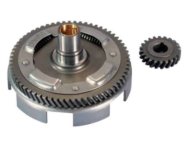Getriebe primär mit Kupplungskorb Polini 22/63 für Vespa PK, Special, XL 75, 100