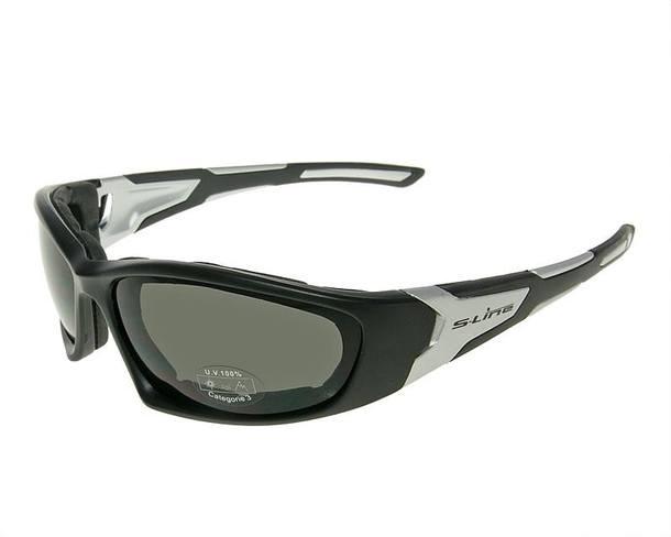 Sonnenbrille Urban Rider schwarz / Alu matt