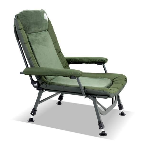 "Fishing chair ""El Presidente"" with aluminium frame – Bild 2"