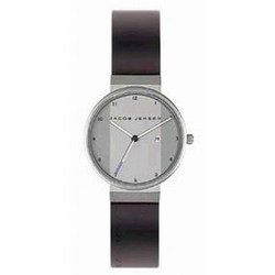 JACOB JENSEN Herrenuhr NEW LINE SERIES Nr. 731 32731S, mit Kautschukband