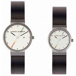 JACOB JENSEN Herrenuhr NEW LINE SERIES Nr. 733 32733, mit Kautschukband
