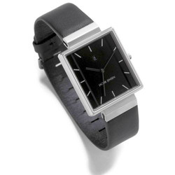 JACOB JENSEN Herrenuhr RECTANGULAR SERIES Nr. 885 32885, mit Lederband