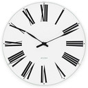 ARNE JACOBSEN WATCH Wanduhr ROMAN CLOCK 160 43622, D. 16 cm