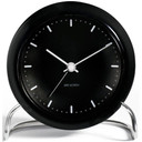 ARNE JACOBSEN WATCH Wecker / Tischuhr CITY HALL BLACK 43673