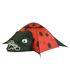 10T LadyBug - 2-Personen Pop-Up Motiv-Zelt Marienkäfer mit separatem Stauraum WS=3000mm