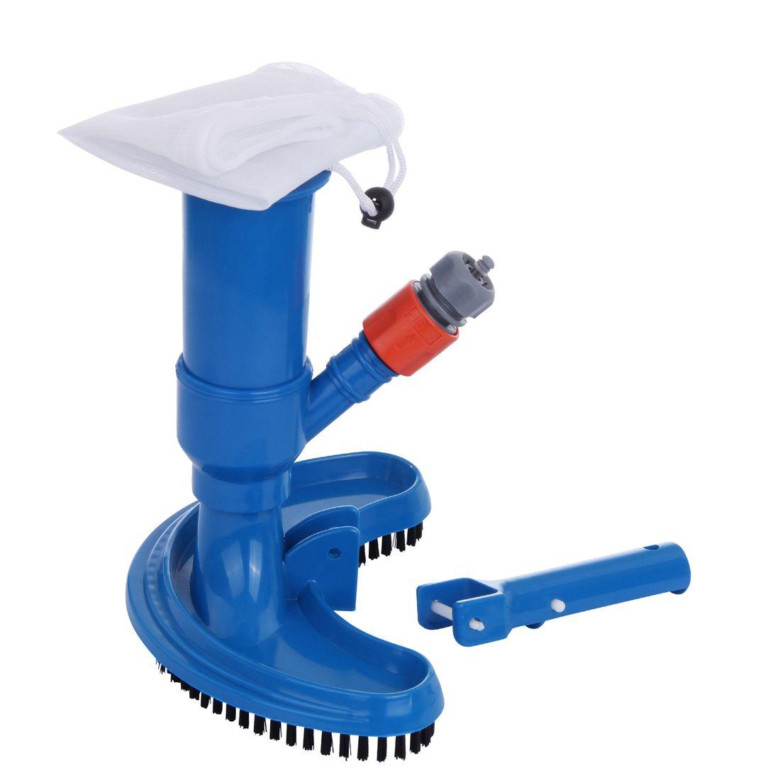 blueborn swimming pool vacuum cleaner jv-c venturi garden hose suction  brush + collecting bag watersport & pools pools & spas care & cleaning