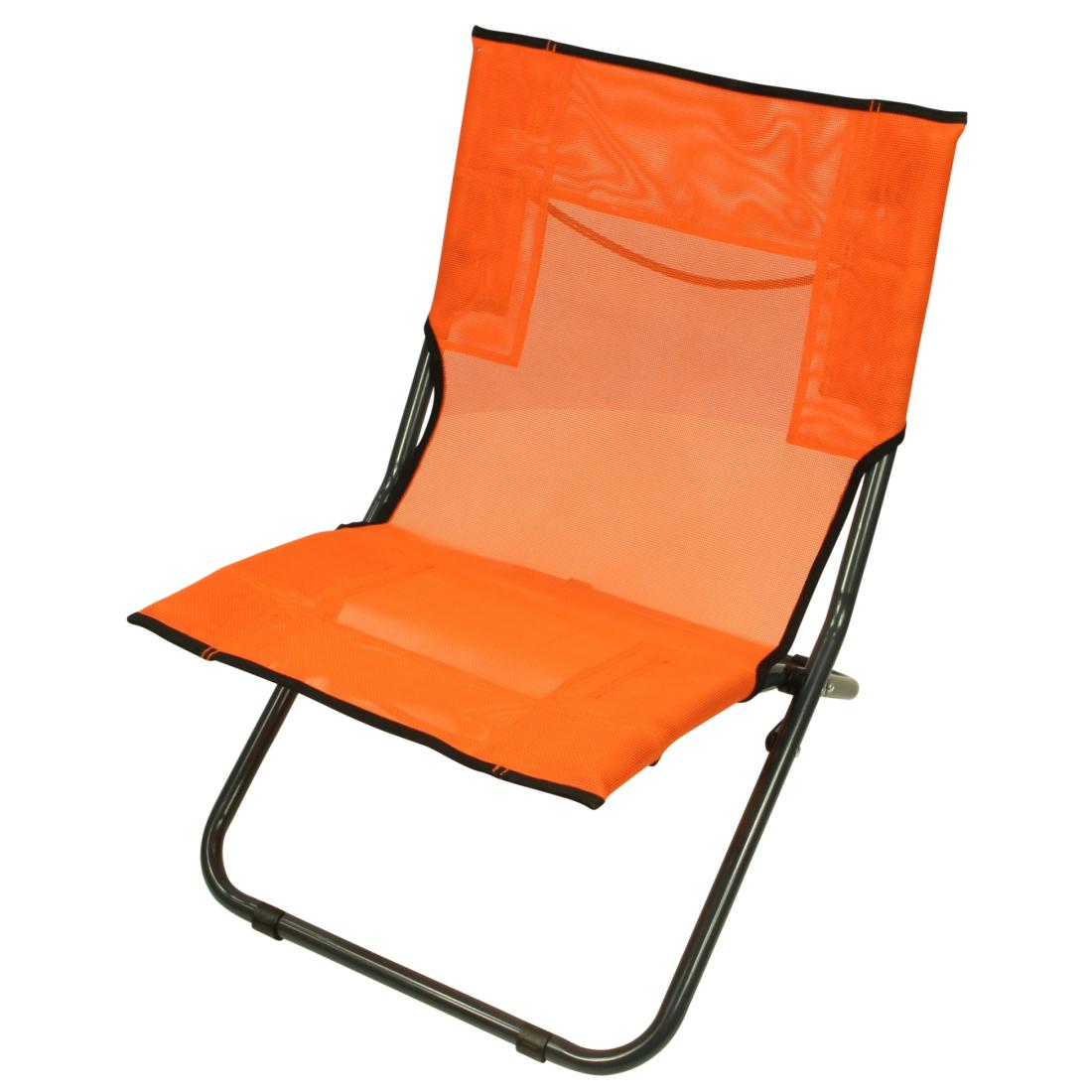 Fridani BCO 620 Siège de camping mobile, siège de plage pliant, Textilene, 3300g Mobilier de plein air Chaises Chaises de plage