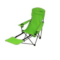 Fridani FRG 105 - Camping-Stuhl mit Fußablage, faltbar, inkl. Tasche, 4200g