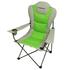 Fridani FSG 108 - Silla de acampada plegable XXL, completamente almohadillado, portavasos, 3900g