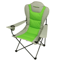 Fridani FSG 108 - Foldable XXL camping chair, fully padded, cup holder, 3900g