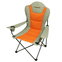 Fridani FSO 108 - Foldable XXL camping chair, fully padded, cup holder, 3900g