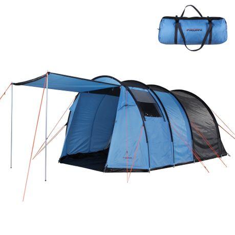 Familienzelt für 4 Personen mit Vorzelt Zelt Vorraum Vordach