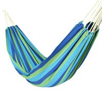 10T Larimar Double - hammock made from cotton, 240 x 150 cm,  incl. mounting set
