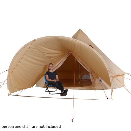 10T Desert 10 Plus Tipi tent with XXL living & sleeping
