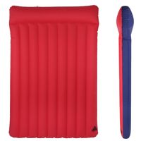 10T Ruby Double 2 person Airbed Cotton Mattress 200x130 cm Retro Camping Air Mattress Camping Mat