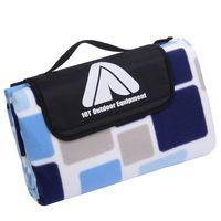 10T PicNic Cube XL Manta de picnic 200x200 Manta de vellón de camping impermeable y aislada para la playa