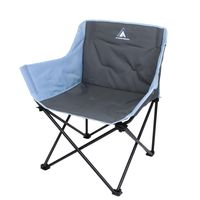 10T Camping chair Jace Arona XXL Folding chair up to 130 kg Chair with cup holder + side pocket