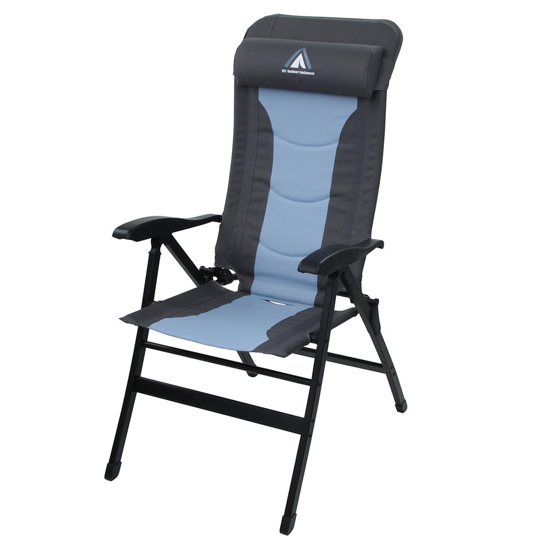 Campingstuhl Liegestuhl.10t Gartenstuhl Jai Gepolsteter Klappstuhl Campingstuhl Hochlehner Liegestuhl Stuhl Mit Kopfkissen Outdoor Furniture Chairs Folding Chairs