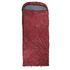 10T Kodiak Red - Einzel Decken-Schlafsack mit Halbmond-Kopfteil Komfortmaße 235x100cm rot bis -21°C