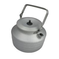 10T Kettle 1300 - Tee-Kessel mit Deckel Wasserkessel Aluminium eloxiert 1,3 Liter