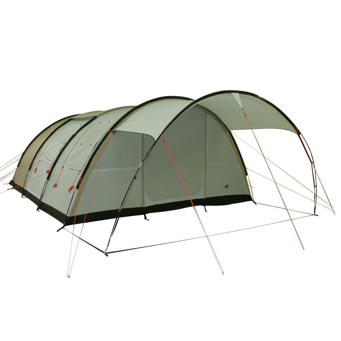 10T Outdoor Equipment - LEIGHTON 6 - Image 1  sc 1 st  C&ing-Outdoor.eu & Buy 10T Leighton 6 - 6-person tunnel tent with large canopy and full ...