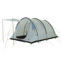 10T Salton 4 - 4-person tunnel tent, vestibule + separable interior compartment, sewn in ground sheet, WS=5000 mm