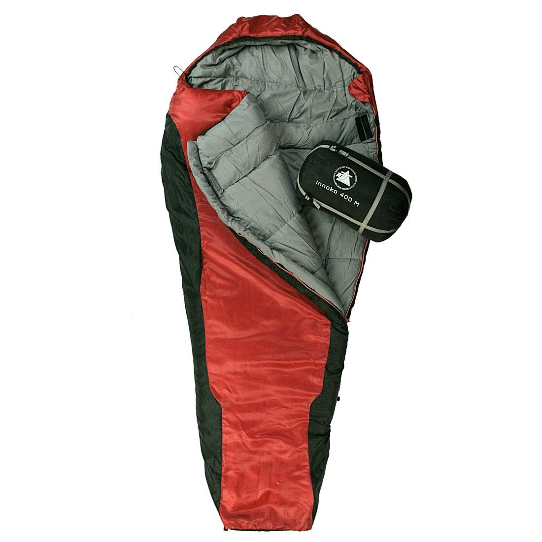 10t Innoko 400m Single Mummy Sleeping Bag 200x85 55 Cm