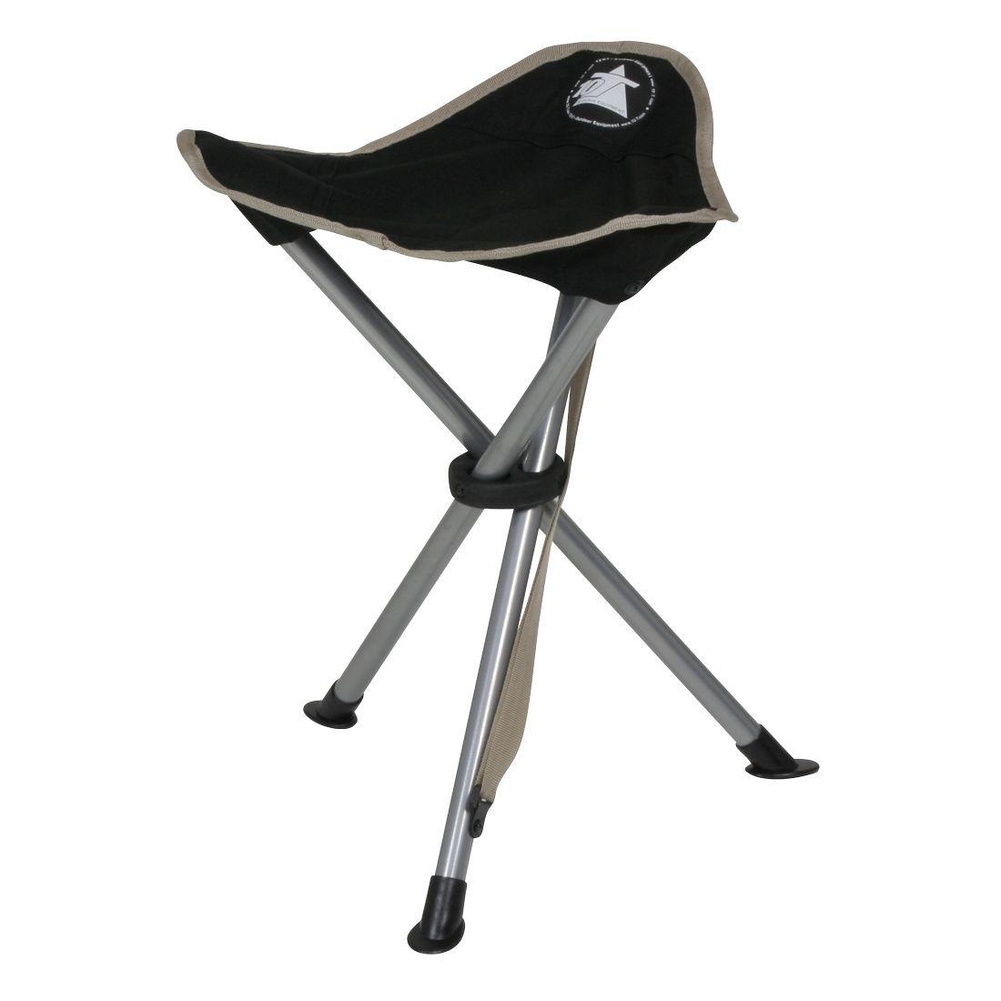 Buy 10t Tripod Camping Chair Three Leg Stool 45 Cm Seat Height