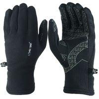 Trekmates Rossett Glove S - leichter Fleece Finger Handschuh mit Anti-Rutsch Grifffläche, unisex