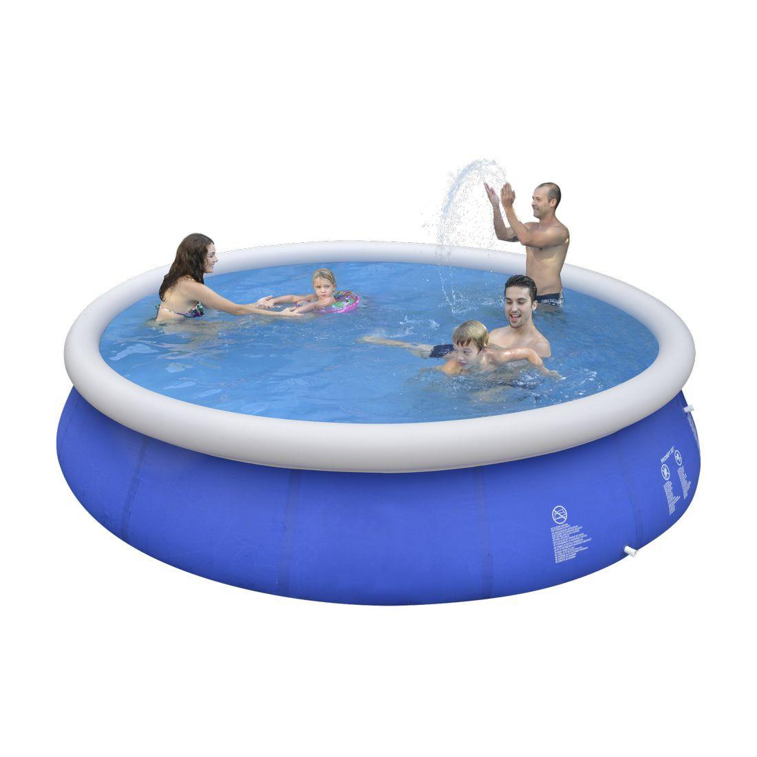 Jilong marin blue 450 quick up pool 450x90cm von jilong for Swimming pool ausverkauf