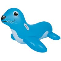 Jilong Seelöwe XL swimming animal  117x80 cm water toy with 2 handles air mattress