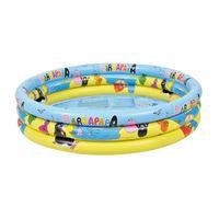 Jilong 3 Ring Pool Barbapapa 150 - Kinder  Planschbecken, geeignet ab 3 Jahren, Ø150x30 cm