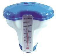 Jilong Chemical Floater 5 (Ø 12,7cm)  - schwimmender Chemiekalienspender für1`` (2,5cm) Tabletten mit Thermometer